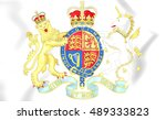 Royal Coat Of Arms Of United...