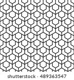 abstract geometric pattern in... | Shutterstock .eps vector #489363547
