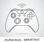 simple vector xbox gamepad icon....