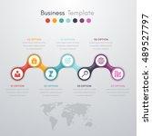 vector illustration... | Shutterstock .eps vector #489527797