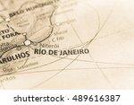 rio de janeiro  brazil. | Shutterstock . vector #489616387