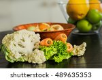 cauliflower with carrots and...