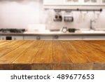 kitchen room  | Shutterstock . vector #489677653