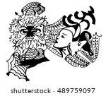 twins  | Shutterstock .eps vector #489759097