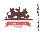 Farm Shop Signboard Or Label...