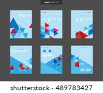 vector layout design template... | Shutterstock .eps vector #489783427