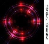 shining lenses of objective ...   Shutterstock . vector #489861013