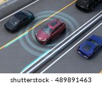 concept illustration for auto... | Shutterstock . vector #489891463