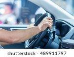 driving with comfort | Shutterstock . vector #489911797