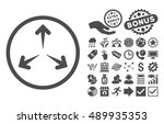 expand arrows pictograph with... | Shutterstock .eps vector #489935353