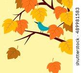 vector illustration of tree...   Shutterstock .eps vector #489981583