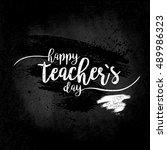 happy teacher's day   white...