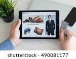 alushta  russia   september 23  ... | Shutterstock . vector #490081177