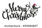 christmas holiday banner. merry ...