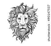 hand drawn vector illustration... | Shutterstock .eps vector #490147537
