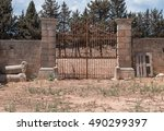 Antique Gate From Steel