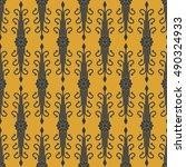 vector seamless pattern   Shutterstock .eps vector #490324933