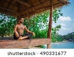 man in meditation | Shutterstock . vector #490331677
