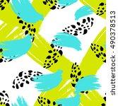 simple modern geometric chevron ...   Shutterstock .eps vector #490378513