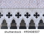 Portion Of The Facade At The...