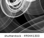 abstract white flame smoke... | Shutterstock . vector #490441303