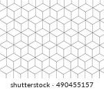 3d box pattern black and white