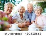 modern seniors | Shutterstock . vector #490510663