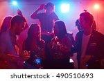 clubbing | Shutterstock . vector #490510693