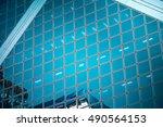modern architecture close up | Shutterstock . vector #490564153
