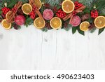 Christmas Dried Fruit Abstract...