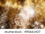 abstract holiday background  ... | Shutterstock . vector #490661437