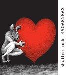 heart doctor   Shutterstock .eps vector #490685863