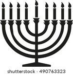 happy hanukkah candleholder