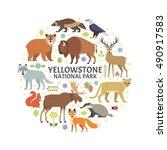 vector illustration of... | Shutterstock .eps vector #490917583
