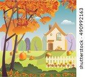 vector illustration of... | Shutterstock .eps vector #490992163