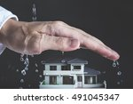 protection and housing   Shutterstock . vector #491045347