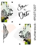 hand drawn vector abstract... | Shutterstock .eps vector #491071207