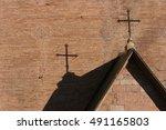 church rood | Shutterstock . vector #491165803
