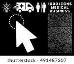 mouse pointer icon with 1000...