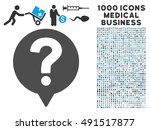 help balloon icon with 1000... | Shutterstock . vector #491517877