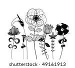 flower | Shutterstock .eps vector #49161913