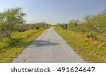 Small photo of Lonely Path on a Barrier Island in Laguna Atascosa National Wildlife Refuge in Texas