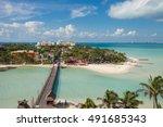 isla de mujeres  mexico | Shutterstock . vector #491685343