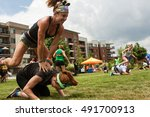 atlanta  ga   july 16  two...   Shutterstock . vector #491700913