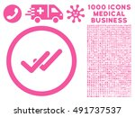 pink validation vector rounded...