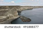 Dramatic Rocky Coastline On Th...