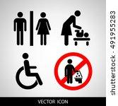 social icons | Shutterstock .eps vector #491955283