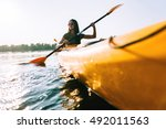 looking for adventures. low... | Shutterstock . vector #492011563