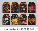 price sale tag templates set... | Shutterstock .eps vector #492212047