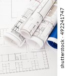 blueprints | Shutterstock . vector #492241747